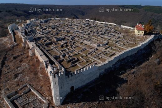 Шуменска крепост заснета с дрон